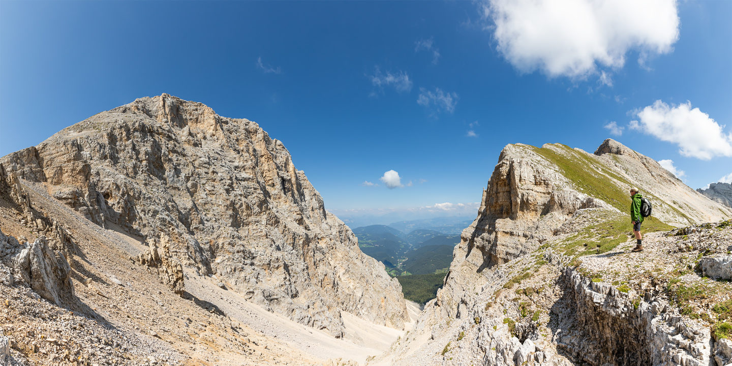 View from Latemar, Dolomites